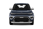 Car photography straight front view of a 2020 KIA Soul  X-Line 5 Door Hatchback