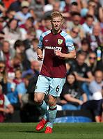29th August 2021; Turf Moor, Burnley, Lancashire, England; Premier League football, Burnley versus Leeds United: Ben Mee of Burnley