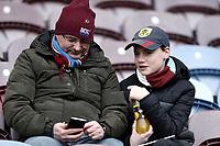 Burnley fans wait for kick-off <br /> <br /> Photographer Rich Linley/CameraSport<br /> <br /> The Premier League - Burnley v Everton - Wednesday 26th December 2018 - Turf Moor - Burnley<br /> <br /> World Copyright © 2018 CameraSport. All rights reserved. 43 Linden Ave. Countesthorpe. Leicester. England. LE8 5PG - Tel: +44 (0) 116 277 4147 - admin@camerasport.com - www.camerasport.com