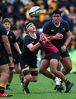 Action from the Auckland 1A 1st XV rugby match between Auckland Grammar School and King's College at Auckland Grammar School in Auckland, New Zealand on Saturday, 26 June 2021. Photo: Simon Watts / bwmedia.co.nz