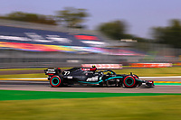 5th September 2020; Autodromo Nazionale Monza, Monza, Italy ; Formula 1 Grand Prix of Italy, 77 Valtteri Bottas FIN, Mercedes-AMG Petronas Formula One Team qualifies in 2nd place