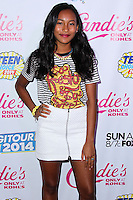 BEVERLY HILLS, CA, USA - AUGUST 09: Sydney Park at the DigiTour and Candie's Official Teen Choice Awards 2014 Pre-Party held at The Gibson Showroom on August 9, 2014 in Beverly Hills, California, United States. (Photo by Xavier Collin/Celebrity Monitor)