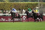 11/09/2011, Reliable Man winning the Qatar Prix Niel by two lenght, jockey Gérald Mossé, trainer Alain de Royer Dupré