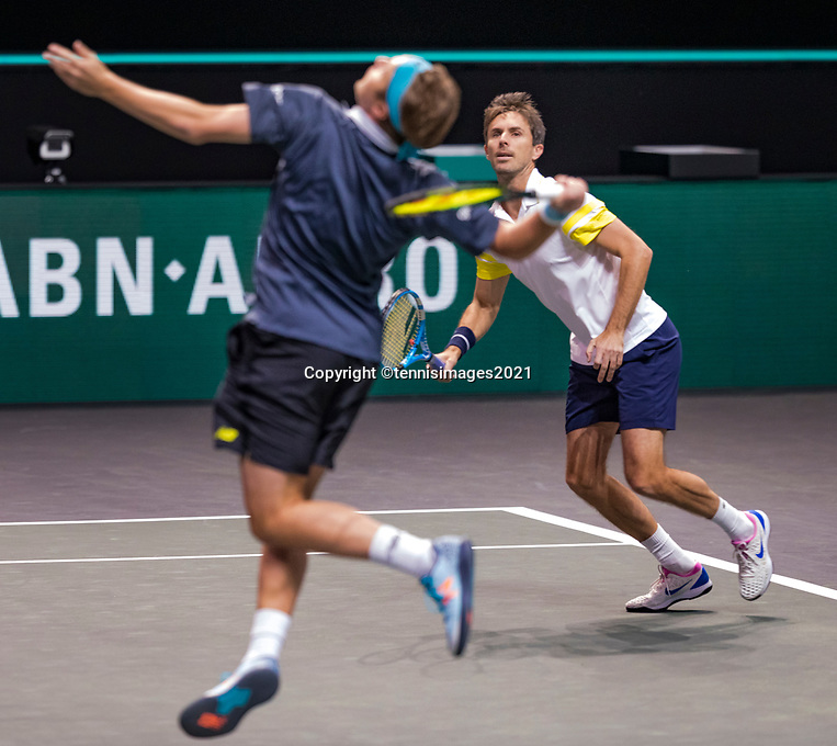 Rotterdam, The Netherlands, 6 march  2021, ABNAMRO World Tennis Tournament, Ahoy,  <br />