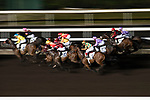 Jockeys competing during the race number 7 at Sha Tin racecourse on November 1, 2017 in Hong Kong, China. Photo by Marcio Machado / Power Sport Images