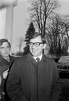 Gerard D. Levesque, ministre des Affaires intergouvernementales, ministre de l'Industrie et du Commerce<br /> le 26 avril 1971<br /> <br /> Photographe : Photo Moderne<br /> - agence Quebec Presse