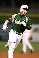 February 27, 2010:  Stephen Hunt of the South Florida Bulls during the Big East/Big 10 Challenge at Bright House Field in Clearwater, FL.  Photo By Mike Janes/Four Seam Images