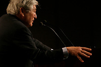 June 7 2004 Quebec City, Quebec, CANADA<br /> <br /> James D Wolfensohn, President World Bank, speak at the 10th Conference of Montreal, June 7 2004<br /> <br /> Photo by Pierre Roussel - Images Distribution<br /> (c) 2004, Pierre Roussel
