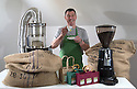 27/05/16<br /> ***WITH PICS***<br /> By Carolyn Bointon<br /> <br /> When John Fearn asks you how you like your coffee he's not wondering if you take milk and sugar. <br /> <br /> He's trying to decide which of his seven different types of freshly roasted coffee beans to offer you.<br /> <br /> For this 60 -year-old from Derbyshire is one of a growing league of artisan coffee roasters in the UK, tapping in to the nation's ever-growing love affair with the caffeinated beverage.<br /> <br /> Full story here: http://www.fstoppress.com/articles/longford-coffee-roaster/<br /> <br /> All Rights Reserved: F Stop Press Ltd. +44(0)1335 418365  www.fstoppress.com