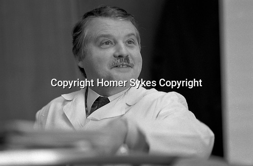 Professor Luc Antoine Montagnier Pasteur Institute, Institut Pasteur, Paris, France 1985.
