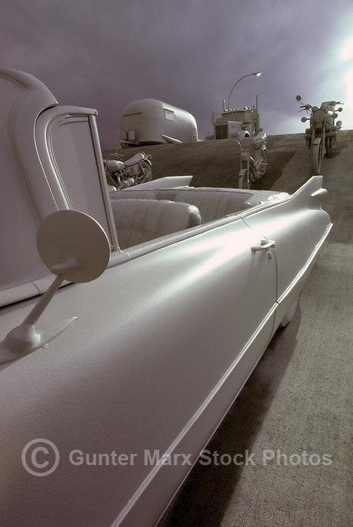 Detail of a Cadillac Vintage Car