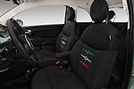 Front seat view of 2017 Fiat 500 Pop 3 Door Hatchback Front Seat  car photos