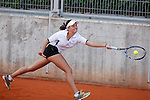 New Zealand tennis player Nina Paripovich during Tennis Junior Fed Cup in Madrid, Spain. September 30, 2015. (ALTERPHOTOS/Victor Blanco)