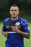 Danny Simpson of QPR in training