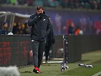 03.03.2018, Football 1. Bundesliga 2017/2018, 25.  match day, RB Leipzig - Borussia Dortmund, in Red Bull Arena Leipzig. Trainer Ralph Hasenhuettl (RB Leipzig)  *** Local Caption *** © pixathlon<br /> <br /> Contact: +49-40-22 63 02 60 , info@pixathlon.de