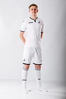 Keston Davies<br />Swansea City FC kit photo shoot at the Liberty Stadium, Wales, UK. Wednesday 03 May 2017