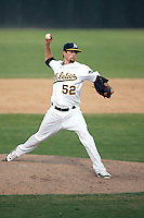 Chris Mederos - Oakland Athletics 2009 Instructional League. .Photo by:  Bill Mitchell/Four Seam Images..