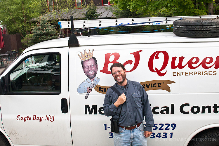 Our guide, Michael O'Brien had an amazing resemblance to this local plumber.