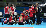 Rio 2016 - Sitting Volleyball // Volleyball assis.<br /> Canada competes against Rwanda in the Women's Sitting Volleyball Preliminary // Le Canada affronte le Rwanda dans le tournoi préliminaire de volleyball assis féminin. 15/09/2016.