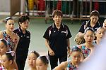 (L to R) <br /> Masako Kaneko (JPN), <br />  Masayo Imura (JPN), <br /> AUGUST 10, 2014 - Synchronised Swimming : <br /> Japan Synchro Challenge Cup 2014 <br /> Exhibition <br /> Team Technical Routine <br /> at Tatsumi International Swimming Pool, Tokyo, Japan. <br /> (Photo by YUTAKA/AFLO SPORT) [1040]