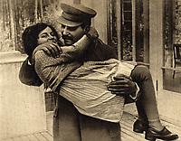 Joseph Stalin  and daughter Svetlana, 1935