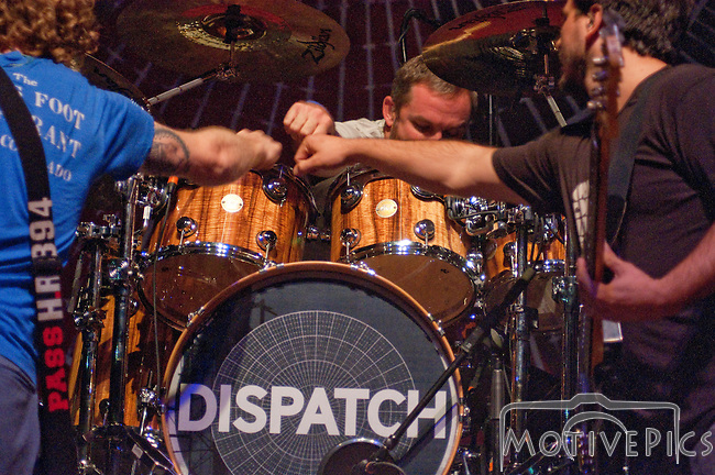 Rock band Dispatch played The Pageant on August 30th, 2011.