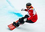 Alex Massie, PyeongChang 2018 - Para Snowboard // Parasnowboard.<br /> Highlights of Team Canada during Para Snowboard competition // Faits saillants d'Équipe Canada lors d'une compétition de parasnowboard. 16/03/2018.