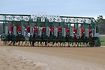 January 18, 2016: Starting gate of the Smarty Jones Stakes at Oaklawn Park in Hot Springs, AR. Justin Manning/ESW/CSM