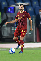 3rd October 2021; Stadio Olimpico, Rome, Italy; Serie A football, AS Roma versus Empoli; Henrikh Mkhitaryan of As Roma