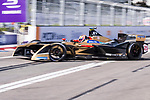 Jean-Eric Vergne of France from TECHEETAH competes in the Formula E Non-Qualifying Practice 2 during the FIA Formula E Hong Kong E-Prix Round 1  at the Central Harbourfront Circuit on 02 December 2017 in Hong Kong, Hong Kong. Photo by Marcio Rodrigo Machado / Power Sport Images