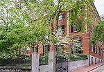 85 Mount Vernon Street on Beacon Hill, Boston, Massachusetts, USA