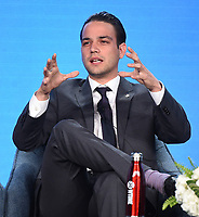 """PASADENA, CA - JANUARY 13: Cast member Daniel Zovatto attends the panel for """"Penny Dreadful: City of Angels"""" during the Showtime presentation at the 2020 TCA Winter Press Tour at the Langham Huntington on January 13, 2020 in Pasadena, California. (Photo by Frank Micelotta/PictureGroup)"""