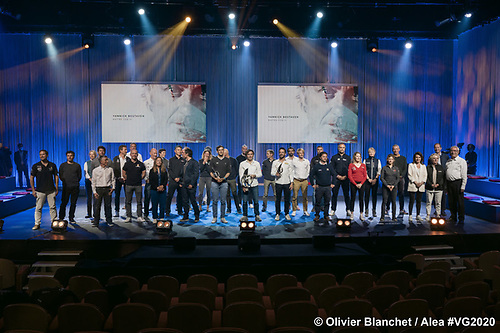 31 of the 33 skippers entered in the 9th Vendée Globe attended the prizegiving