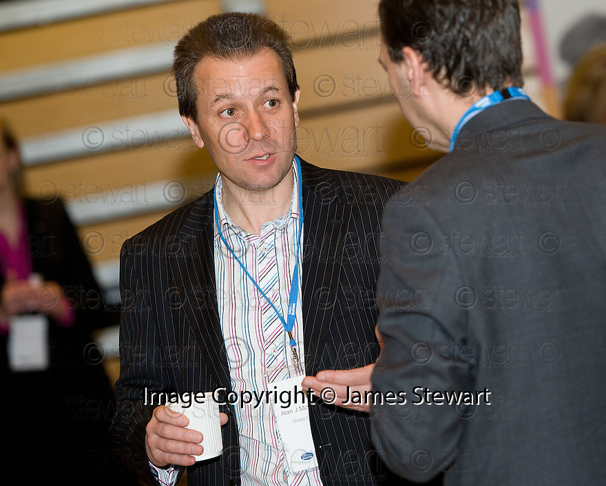 Delegates at the Falkirk Business Panel Update Event 2012, Falkirk Town Hall...