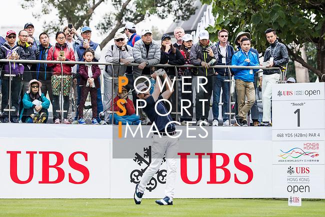 Wade Ormsby of Australia tees off during the day three of UBS Hong Kong Open 2017 at the Hong Kong Golf Club on 25 November 2017, in Hong Kong, Hong Kong. Photo by Yu Chun Christopher Wong / Power Sport Images