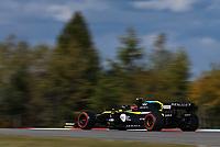 10th October 2020, Nuerburgring, Nuerburg, Germany; FIA Formula 1 Eifel Grand Prix, Qualifying sessions;  31 Esteban Ocon FRA, Renault DP World F1 Team