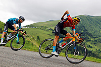 14th July 2021, Muret, France;  TEUNS Dylan (BEL) of BAHRAIN VICTORIOUS during stage 17 of the 108th edition of the 2021 Tour de France cycling race, a stage of 178,4 kms between Muret and Saint-Lary-Soulan.