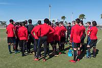 Lakewood Ranch, FL - Sunday Jan. 07, 2018: USMNT U-19 during an U-19 USMNT training session at Premier Sports Campus in Lakewood Ranch, FL.