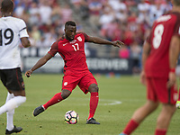 Commerce City, CO - Thursday June 08, 2017: Jozy Altidore during a 2018 FIFA World Cup Qualifying Final Round match between the men's national teams of the United States (USA) and Trinidad and Tobago (TRI) at Dick's Sporting Goods Park.