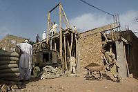 Building site in Herat, Afghanistan.