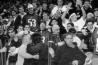 "Fights break out at the 13th annual Wing Bowl, held in Philadelphia on February 4, 2005 at the Wachovia Center.<br /> <br /> The Wing Bowl is a competitive eating event in which eaters try and down the most hot wings in 30 total minutes in front of a crowd of 10,000 plus people.  The real show however is all around the eaters, from the various scantily clad women, known as ""Wingettes"", that make up competitors' entourages to the behavior of the fans themselves."