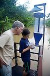 Terry Erwin & Gabriela Jardim Collecting Samples, Tiputini