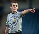 Referee Euan Anderson.