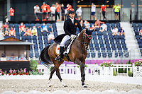 CHN-Yingfeng Bao rides Flandia 2 during the Eventing Dressage Team and Individual Day 2 - Session 3. Tokyo 2020 Olympic Games. Saturday 31 July 2021. Copyright Photo: Libby Law Photography