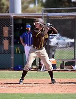 Jack Suwinski - San Diego Padres 2021 spring training (Bill Mitchell)