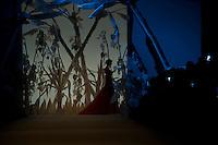 Una modella presenta una creazione della collezione Autunno/Inverno 2013/2014 dello stilista libanese Abed Mahfouz durante la rassegna Altaroma a Roma, 9 Luglio 2013.<br /> A model wears a creation of Lebanese fashion designer Abed Mahfouz Fall/Winter 2013-2014 collection during the Altaroma fashion week in Rome, 9 July 2013.<br /> UPDATE IMAGES PRESS/Virginia Farneti