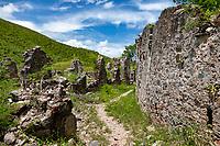 Leinster Bay Ruins<br /> Virgin Islands National Park<br /> St. John<br /> US Virgin Islands