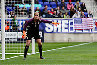 Harrison, NJ - Sunday March 04, 2018: Alyssa Naeher during a 2018 SheBelieves Cup match match between the women's national teams of the United States (USA) and France (FRA) at Red Bull Arena.