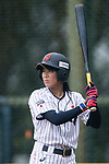 #37 Sugimoto Mina of Japan bats during the BFA Women's Baseball Asian Cup match between Japan and Hong Kong at Sai Tso Wan Recreation Ground on September 5, 2017 in Hong Kong. Photo by Marcio Rodrigo Machado / Power Sport Images