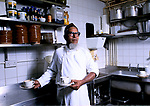 Asian Muslim man, Aabdul Kiam works part time paid casual shift work, he is a kitchen porter in the  London Hilton Hotel.